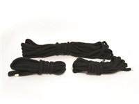 Mister B Bondage Rope Cotton Starter Kit Black