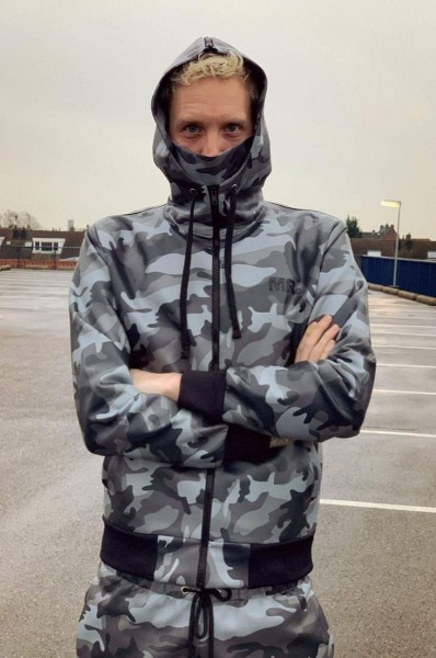 Mr Riegillio MR Camo Jacket Full Zip