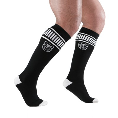 TOF - Footish Socks Black/White