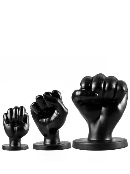 All Black Fist Plug