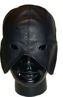 Mister B Leather Master Hood Laced