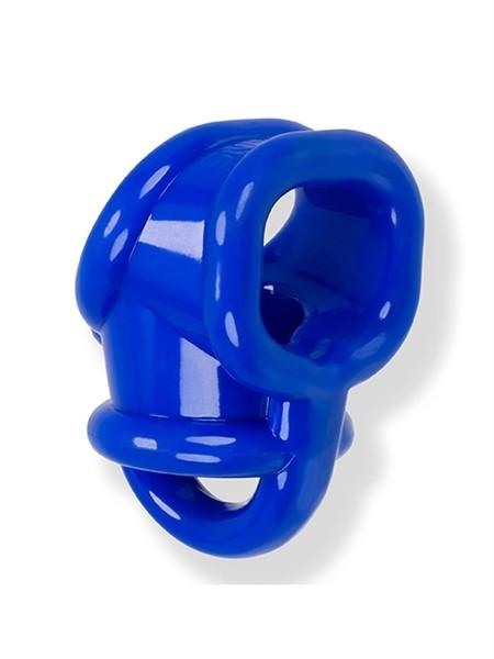Oxballs BALLSLING Ball-Split-Sling Police Blue