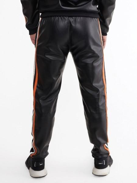 Mr Riegillio MR Tracksuit Pants - Black - Orange