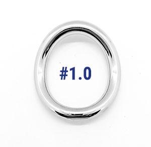 Stainless Steel Ergo Ring 2.0