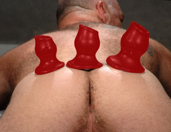 Oxballs PIGHOLE-2 Fuckplug M Red