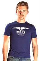 Mister B T-Shirt Glow In The Dark Navy