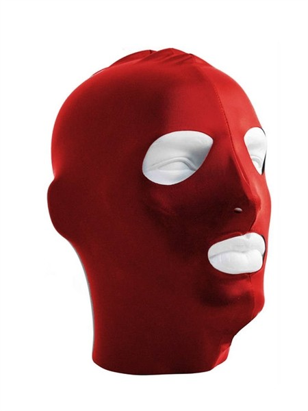 Mister B Datex Hood Eyes and Mouth Open - Red