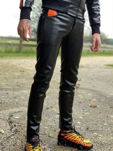 Mr Riegillio MR 5 Pockets Pants Black