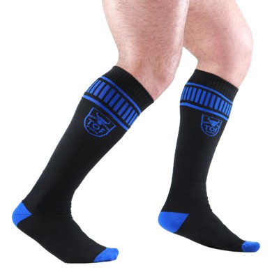 TOF - FOOTISH SOCKS BLACK/BLUE
