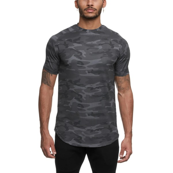 Running Shirt - CAMO/Grey
