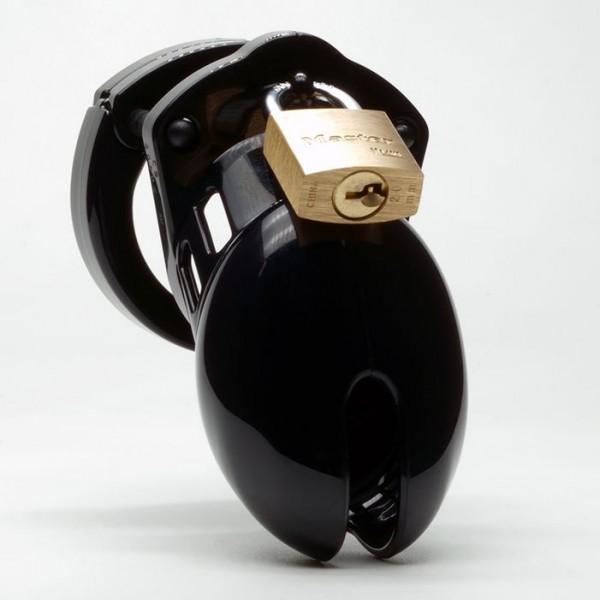 CB-X CB-6000S Chastity Cage - Black