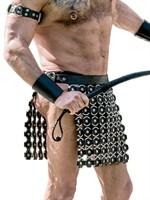 Mister B Leather O-Ring Skirt