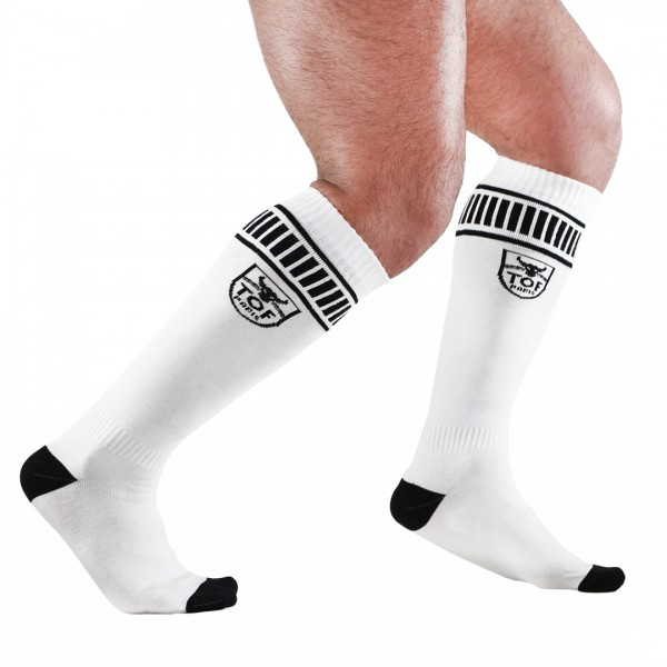 TOF - FOOTISH SOCKS WHITE/BLACK