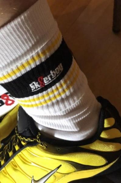 Sk8erboy Deluxe Socks Yellow