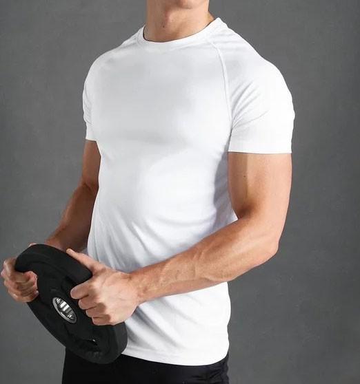 RUFF Basic T-Shirt Weiß