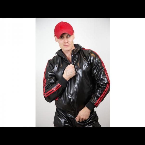 Capt. Berlin Hooded Jacket + Red Stripes