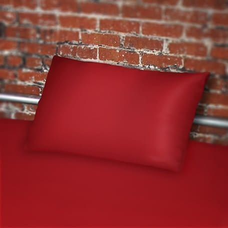 Sheets of SF Pillow case 70 x 45 cm - Red