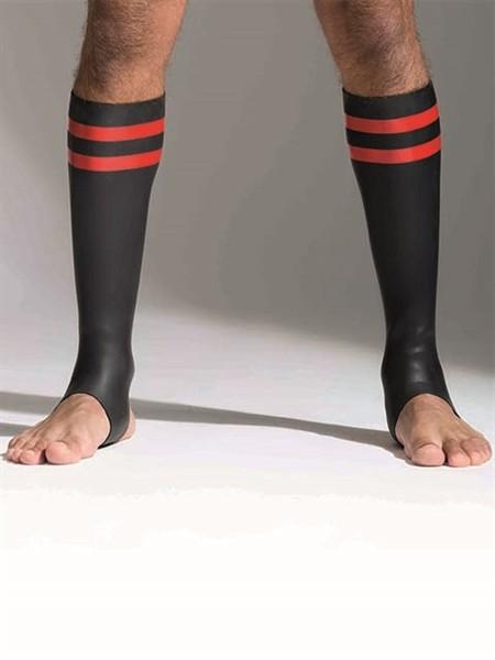 Neoprene Socks Red Tall