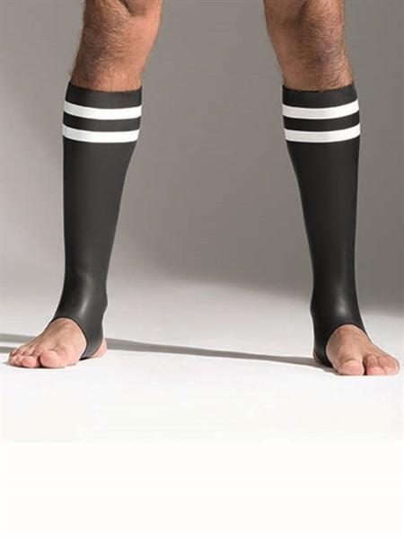 Neoprene Socks White Tall
