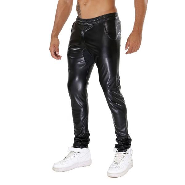 TOF - FETISH SWEAT PANTS - BLACK
