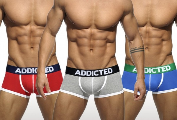 ADDICTED BASIC BOXER - COLOR