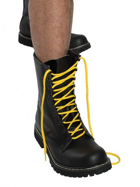 Mister B Shoe Laces Yellow