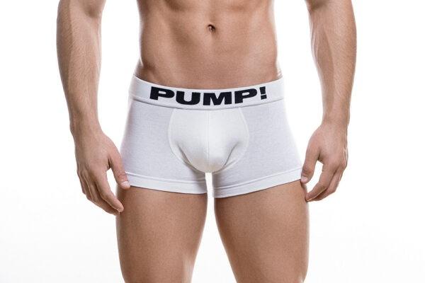 PUMP! White Classic Boxer