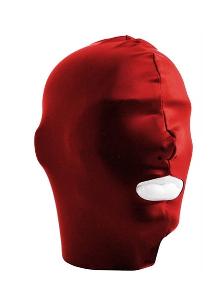 Mister B Datex Hood Mouth Open Only - Red