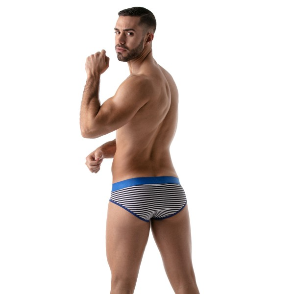 TOF - STRIPES PUSH-UP BRIEF - NAVY-BLUE