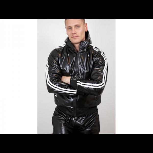 Capt. Berlin Hooded Jacket + White Stripes