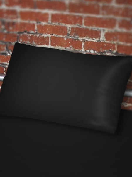 Sheets of SF Pillow case 80 x 80 cm - Black