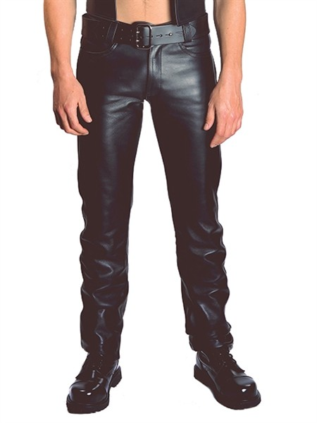 Mister B Leather Jeans Buttons