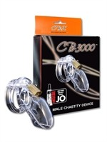 CB-X CB-3000 Chastity Cage Clear