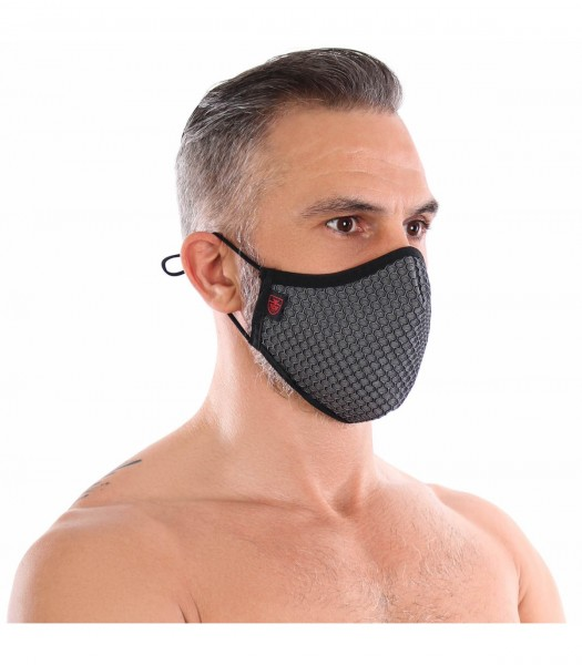 TOF - 3D WASHABLE GREY SEAMLESS MASK