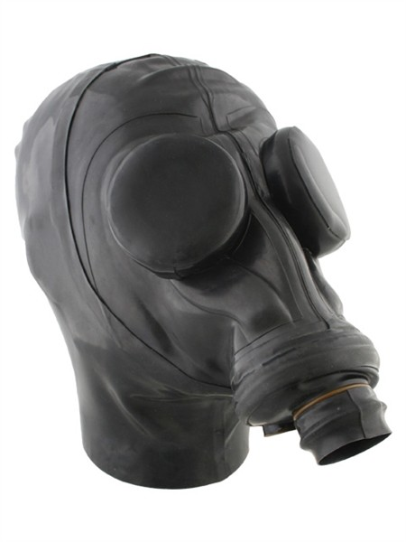 Mister B Russian Gasmask With Hood And Eyecaps