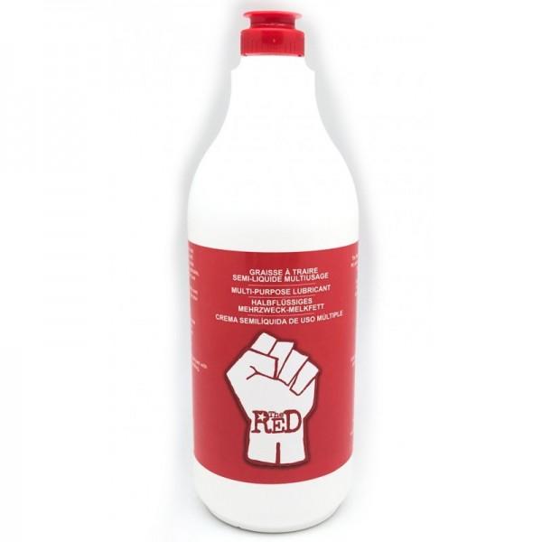 The RED! - Halbflüssiges Melkfett - 1000 ml
