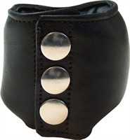 Mister B Leather Lead Weighted Ball Stretcher 500 g