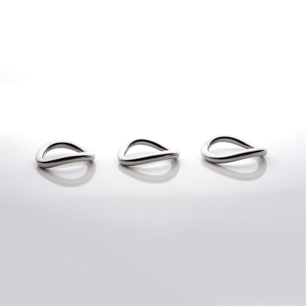 Stainless Steel Ergo Ring