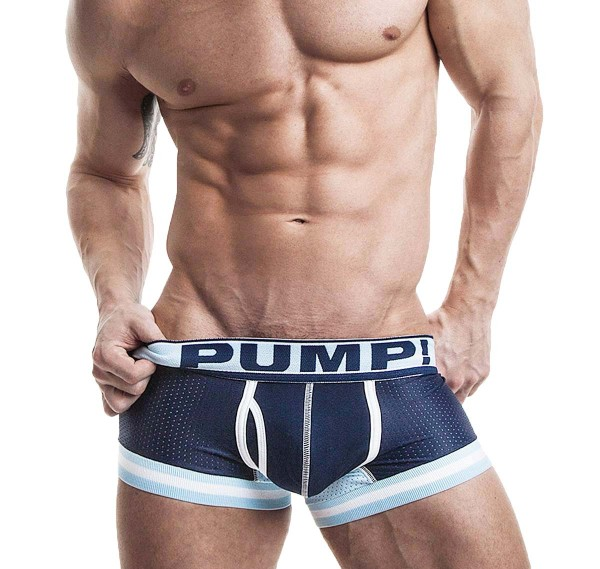 PUMP! Touchdown Blue Steel Boxer