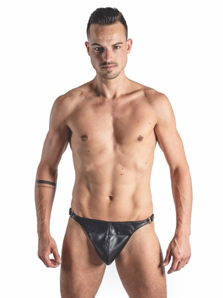 Mister B Leather Posing Pouch One Belt Zip