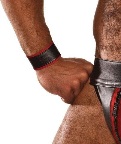 COLT Wristband Black-Red