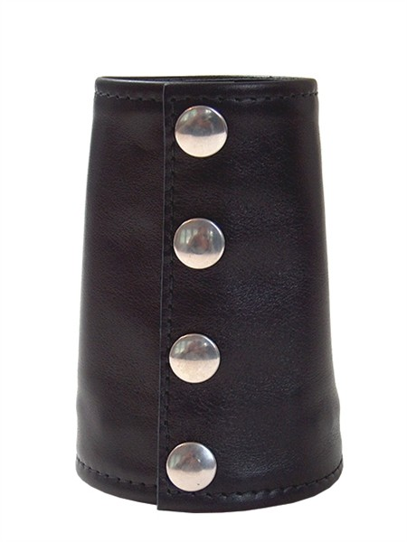 Mister B Leather Gauntlet Wallet Zip