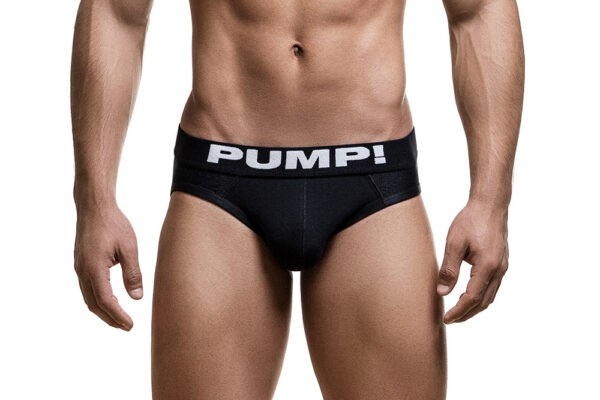 PUMP! Black Classic Brief