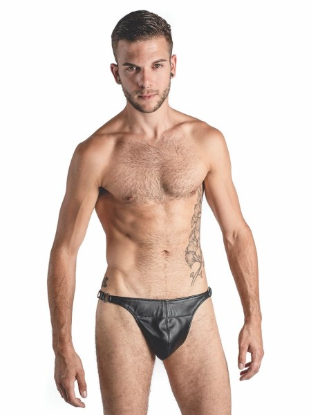 Mister B Leather Posing Pouch One Belt Plain