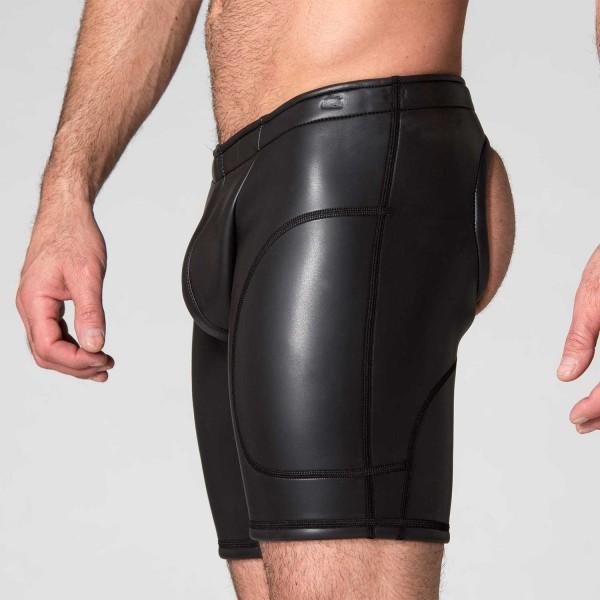 Neo Open Long Shorts Black