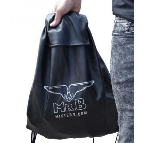 Mister B Nylon Backpack Black
