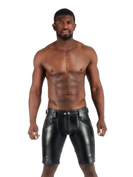 Mister B Leather FXXXer Short All Black