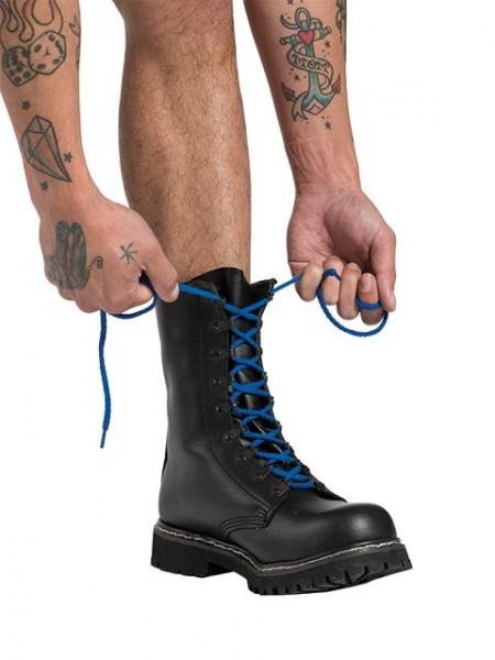 Mister B Shoe Laces Blue