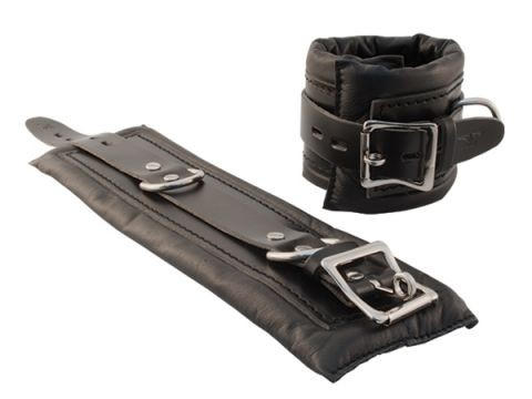 Mister B Premium Ankle Restraints Black Black