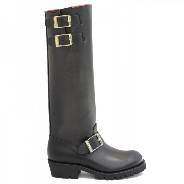 """EMBOSSY Red Engineer Boss 20"""" Boots"""